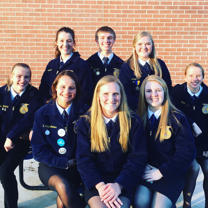 Freeman FFA Officer Team