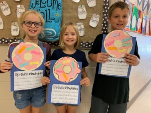 Second Graders Kindness